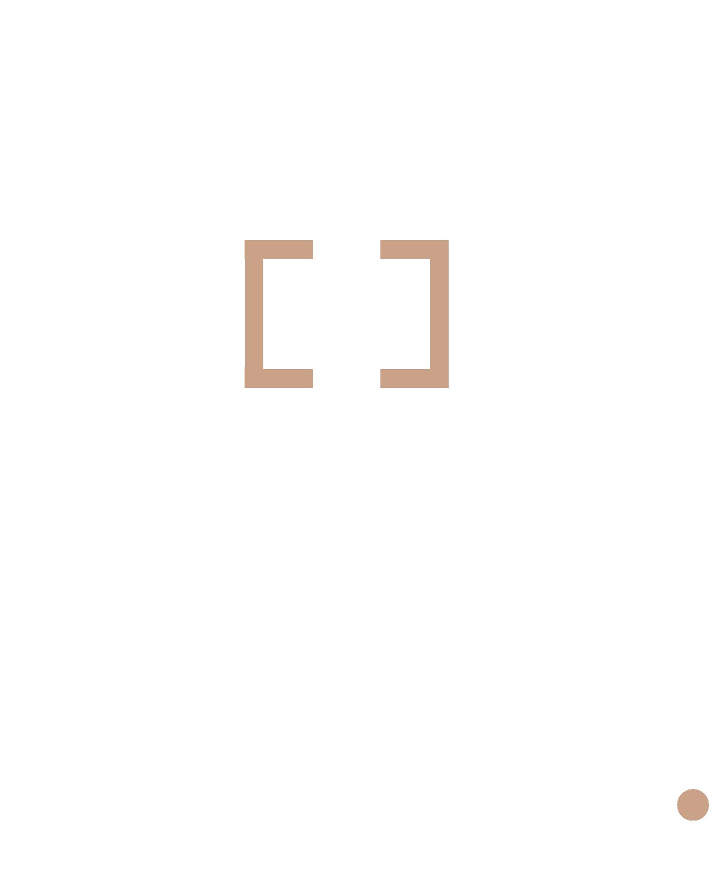 Haute White Logo with tan accent